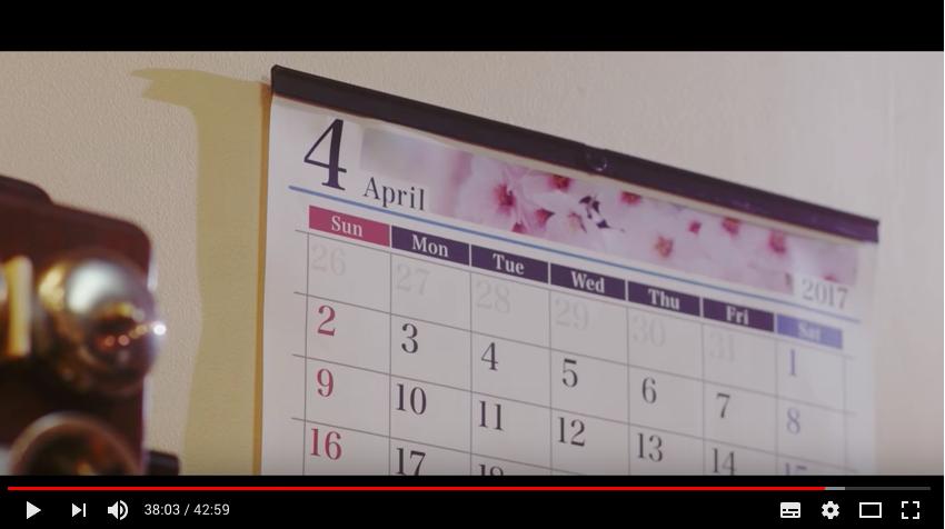 映画『CALENDER FILMS』(URCHIN FARMコラボ作品)
